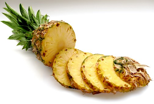Pineapple is great for your diet and health! It's also a great skin exfoliator as it contains bromelain.