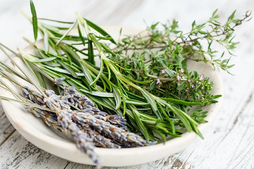 "Herbal essential oils like Rosemary, Lavender, Thyme, etc. give your soaps a wonderful floral or ""green"" scent."