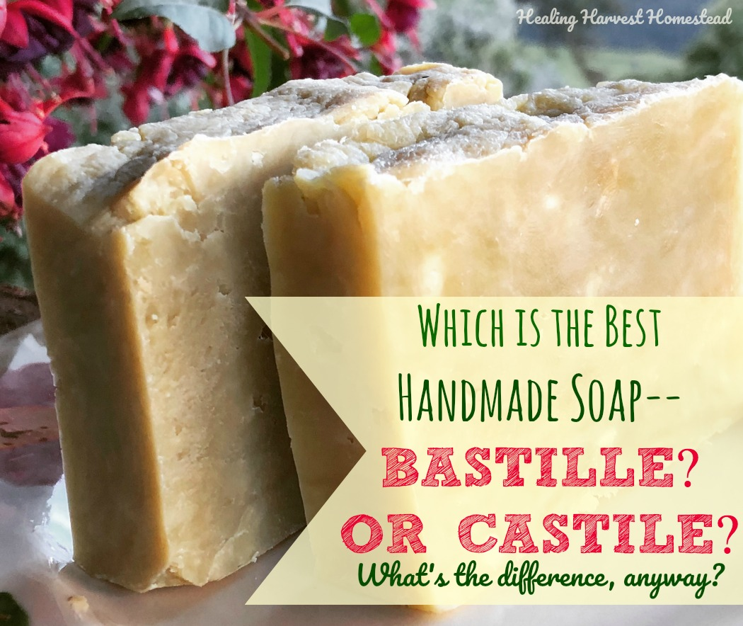 Castile vs  Bastille Soap: What is the Difference? Which is