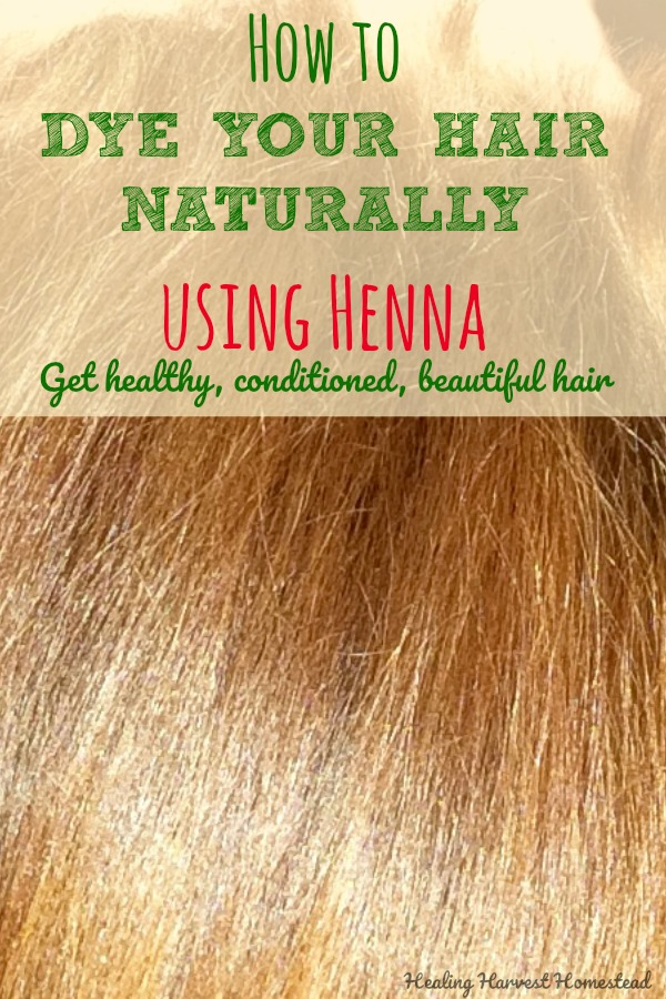 How To Dye Your Hair Naturally With Henna Plus An Update About