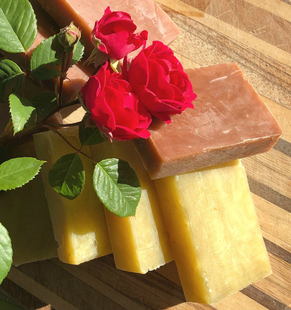 Not only is this soap lovely, it's just a great recipe too! I hope you'll try it! :-)