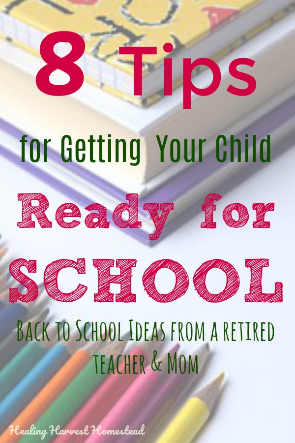 We are in the dead center of Summer. But the new school year is looming before us! Here are eight things you can start doing now to have your child be ready for the new school year and make it a success! Ease the trauma of a new schedule, get started with some healthy school habits, and start planning for a great school year now! It's never to early to get ready for going back to school! #school #backtoschool #schoolsupplies #teacher #successfulschoolyear