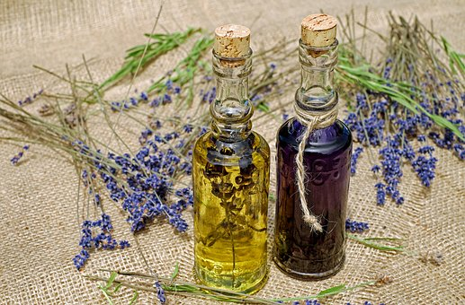 You can infuse the flowers directly into alcohol or oils, but the essential oil of lavender is especially strong.
