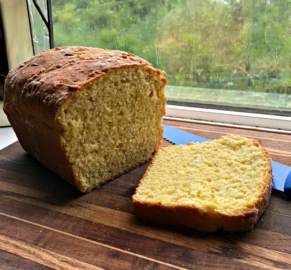 Learning to bake your own bread is really quite simple. You'll have some mistakes in the beginning, but you will learn! Then you can play around with healthy flours or sour dough!