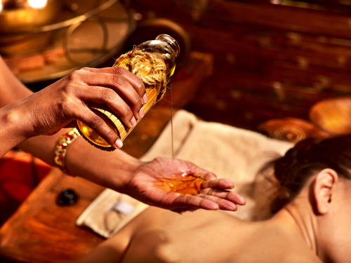 Herbal oils make for a wonderful massage for sore muscles and aching joints.