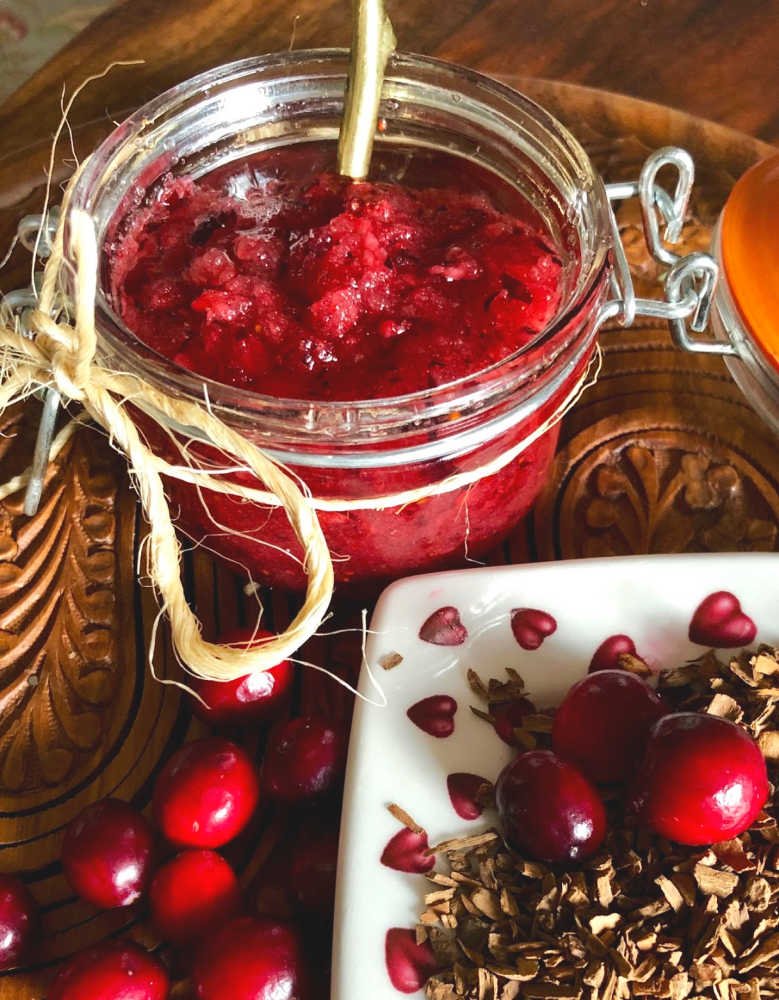 You have to remember that any substance you put on your skin, including this lovely  Cranberry Sugar Scrub,  can affect your health. Essential oils and fragrance oils will seep into your body through the pores in your skin, your largest organ.