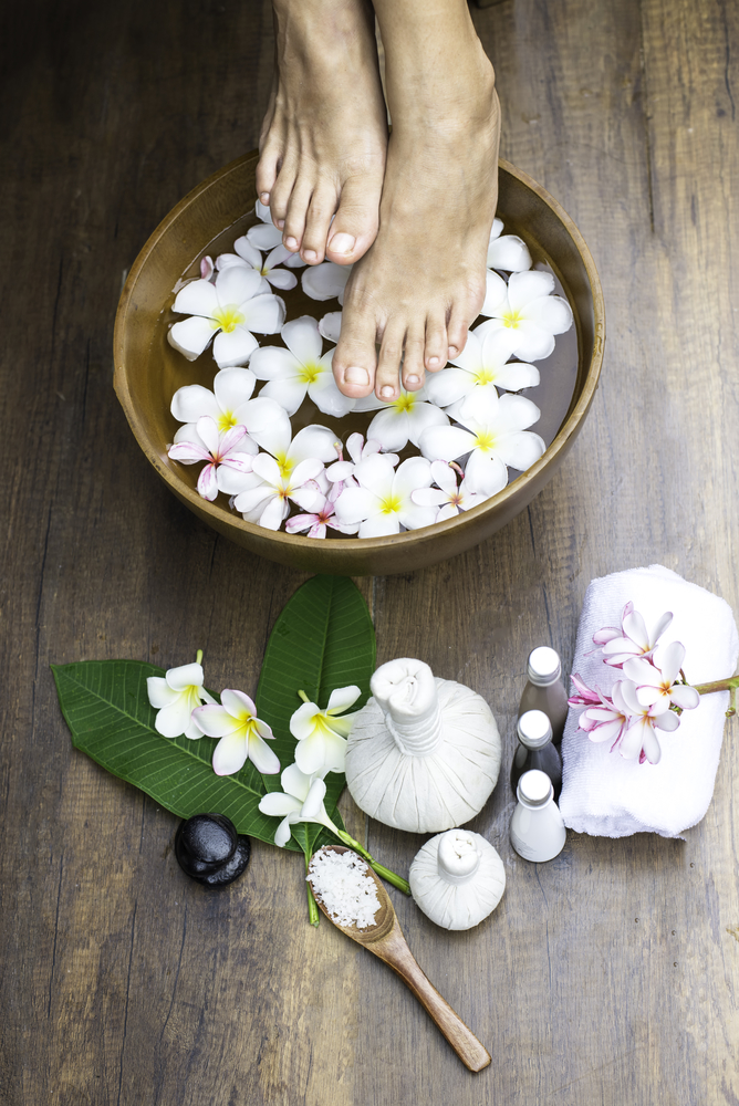 Using herbs and minerals in the tub is a wonderful way to have an herbal wash.