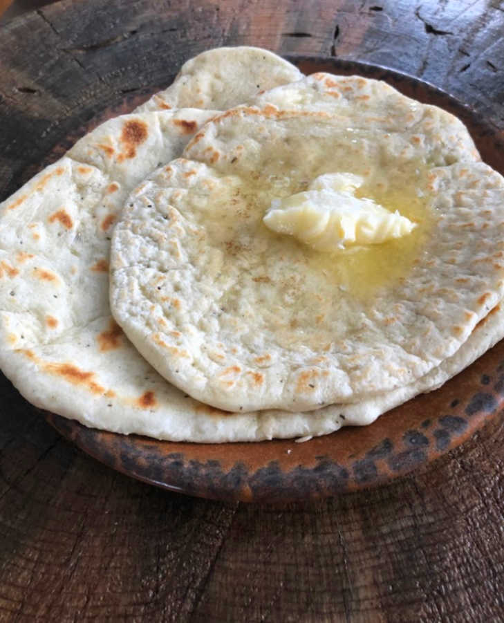 And these tortillas are perfect in the morning with just butter or an egg on top!