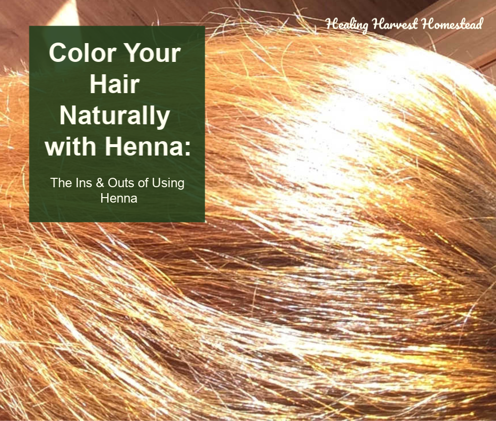 How To Dye Your Hair With Henna Indigotural Chemical Free