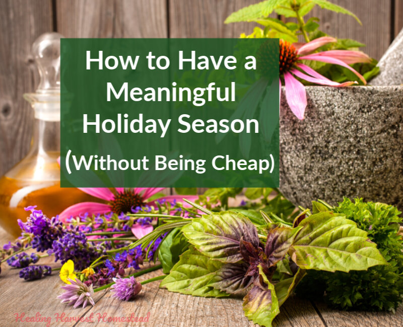 Having a Meaningful, Frugal Holiday Season: But NOT a Cheap One (Christmas Doesn't Have to Kill Your Finances)