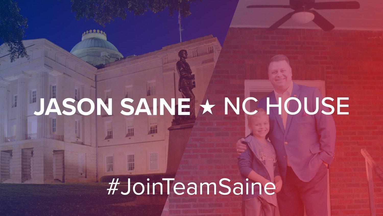 Rep  Jason Saine - 97th District