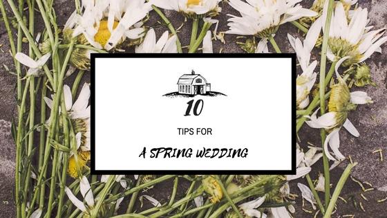 tipsforspringwedding