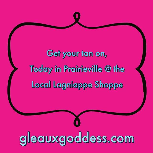 Come Gleaux with me today in Prairieville. #isprayyouslay #tandat #weekendplans #gleauxing #thatlacommunity #idigbr #prom2019 #louisianagirl #prairieville #gleauxgoddess #artist #shoplocallagniappe
