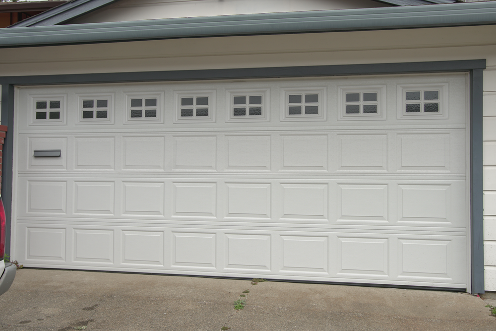 Superior A Two Car Garage Door Needs To Accommodate A Larger And Heavier Door. But  It Also Needs To Reflect The Beauty Of The House.