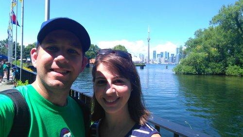 Toronto Islands in the summer.