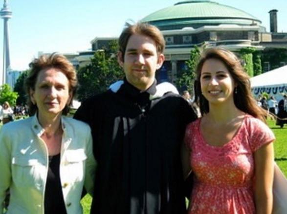 Brian's university graduation. June 2012