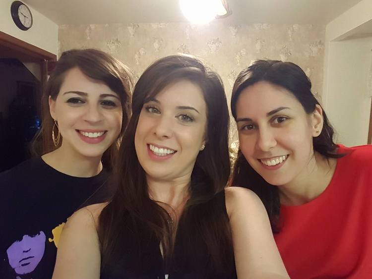 Myself with Miche & Christina. Two beautiful ladies I met while working my first part-time job in a grocery store. We still see each other every so often.