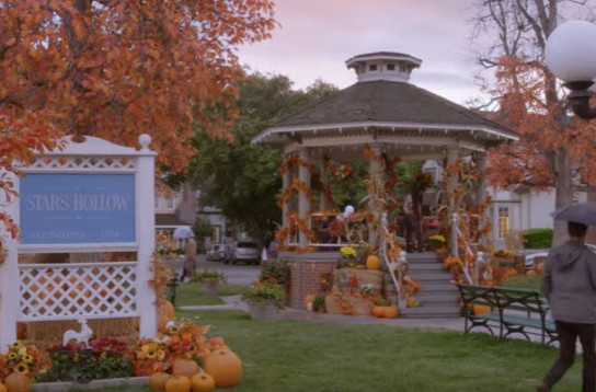 Stars Hollow from Gilmore Girls.