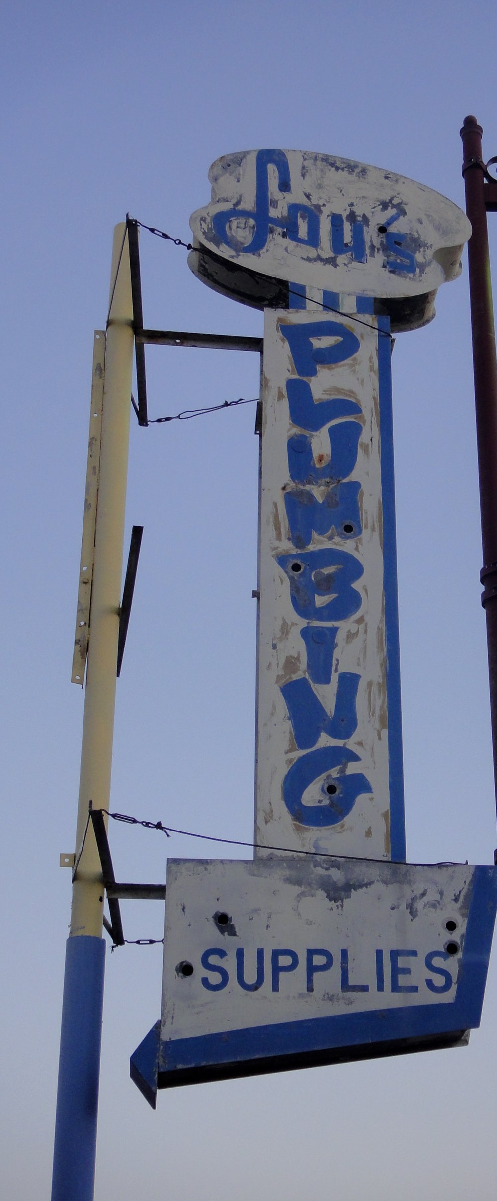 We did business for many years with Lou's Plumbing in South Tucson on Fourth Avenue. Still lament that it closed.