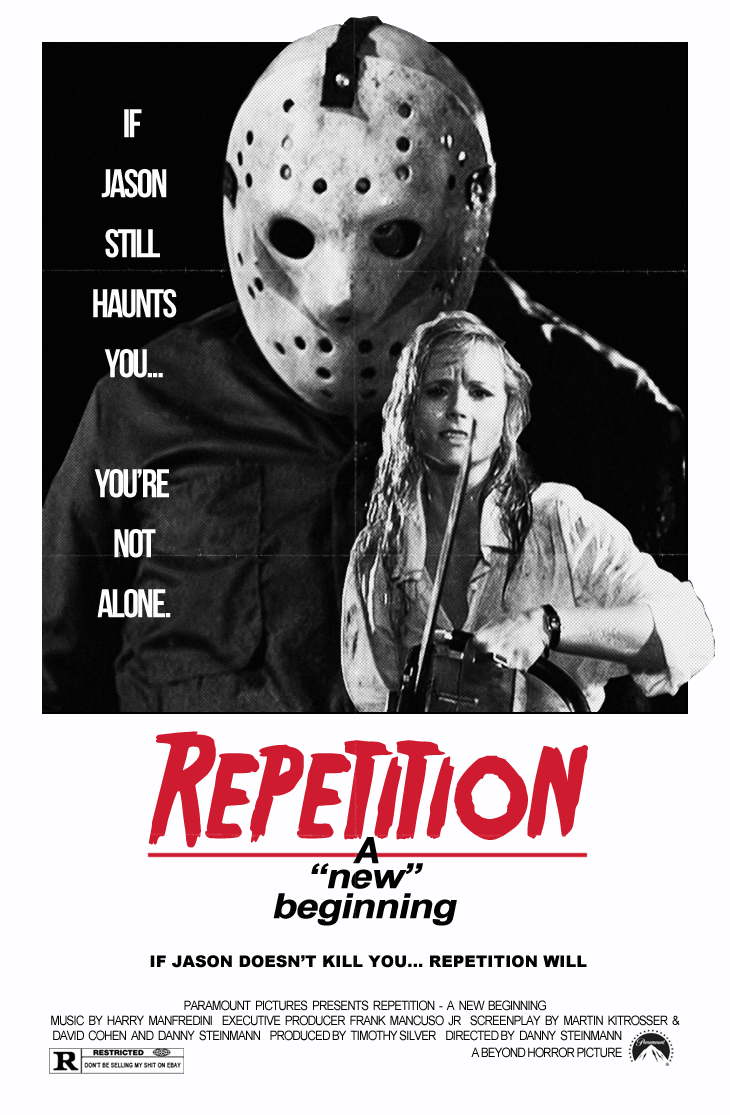 Friday the 13th A New Beginning poster by Beyond Horror Design.png