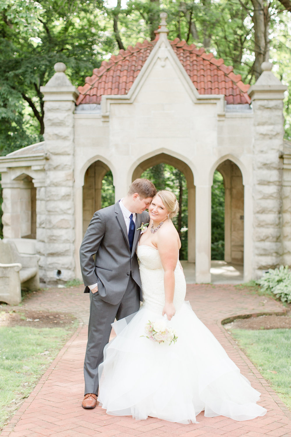Bri + Aric | Indiana University Wedding at The Rose Well House