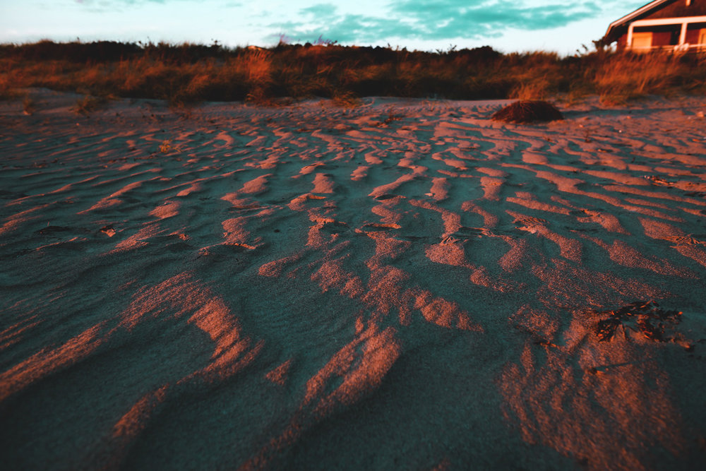 Sands of time. Tones of sand.