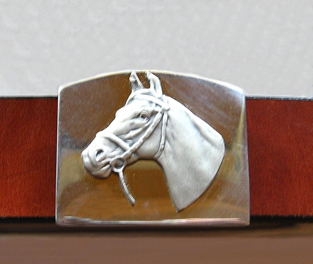Our Unisex Alpaca Silver Belt Buckle & Belt Leather - Click  here  for all the details