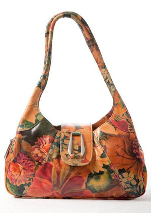 1ea7046767b8 Floral Leather Bags — Pieces Of Argentina