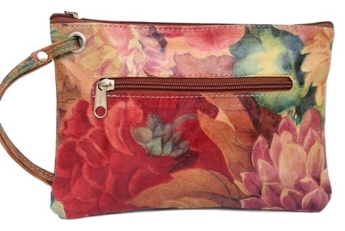 7bf705a0a52d Argentinean Floral Leather Wrist-let Bag - NC-JSOB 1450 — Pieces Of ...