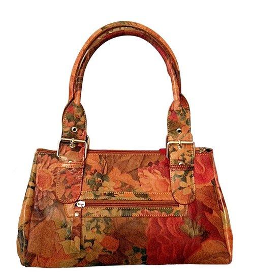 9446d41e850e Argentinian Cowhide Floral Leather Tote Bag - Noa-J095 7990 — Pieces ...
