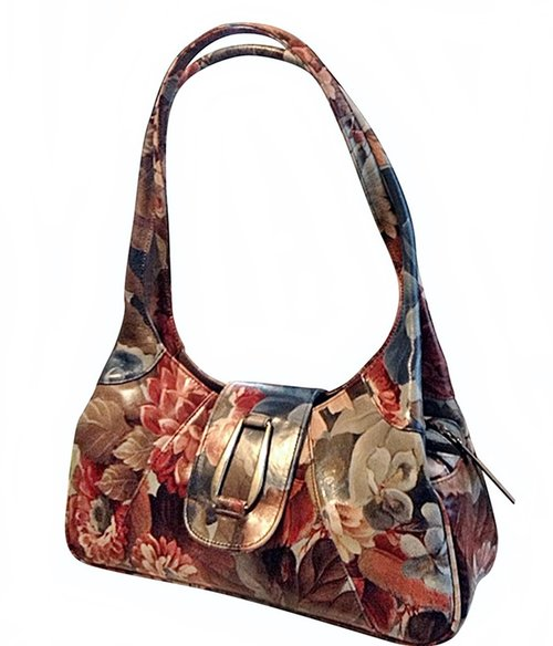 Brilliantly Styled Floral Leather Shoulder Handbag - NoaA-80 Ju ... ca00ffb401857