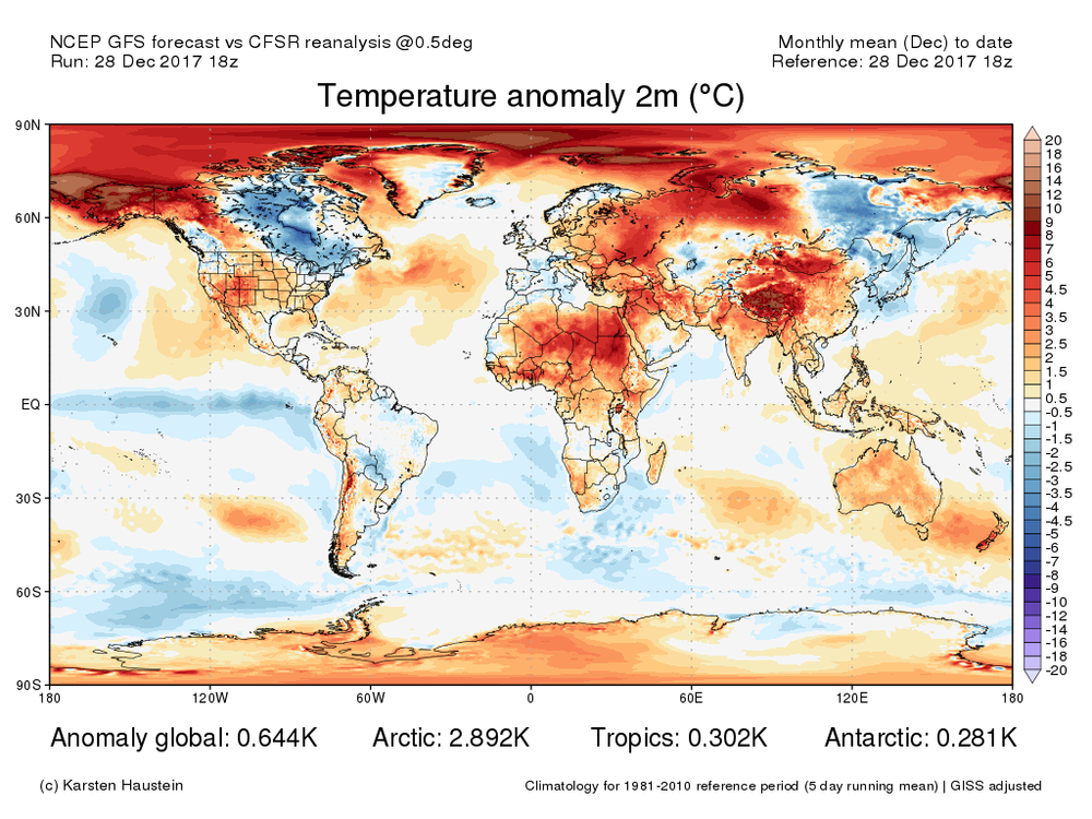 Month-to-date global temperature anomaly map courtesy of Karsten Haustein, www.karstenhaustein.com/climate.