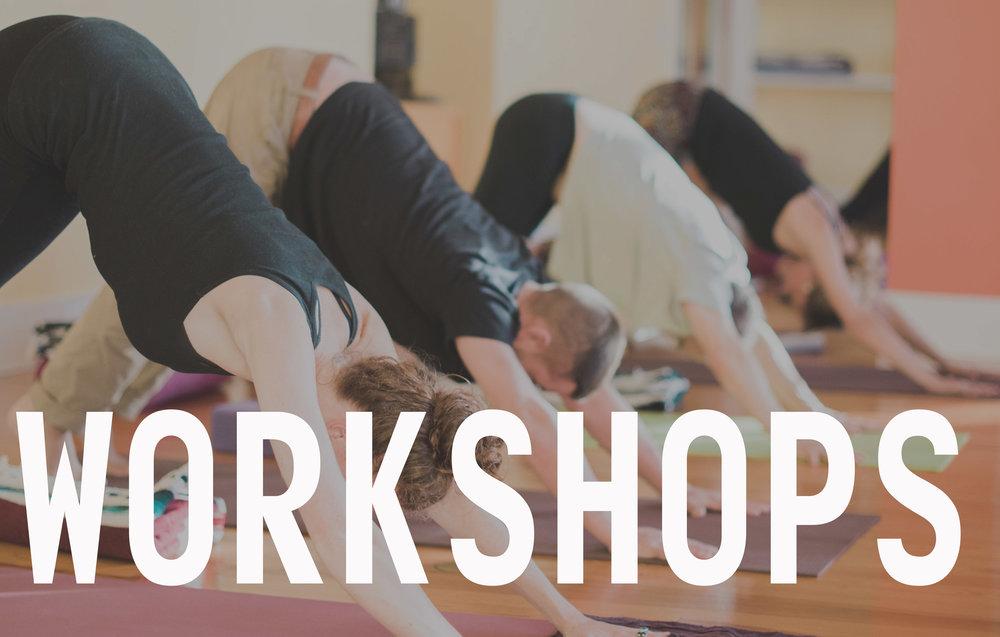 Workshops & Special Series
