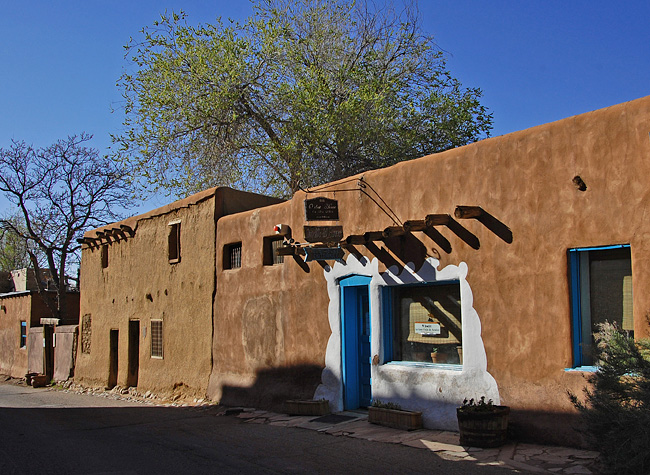 De Vargas St. House is said to be the oldest house in the United States.