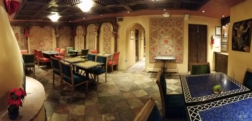 The dining area where gourmet breakfast is made to order and complimentary with your stay.