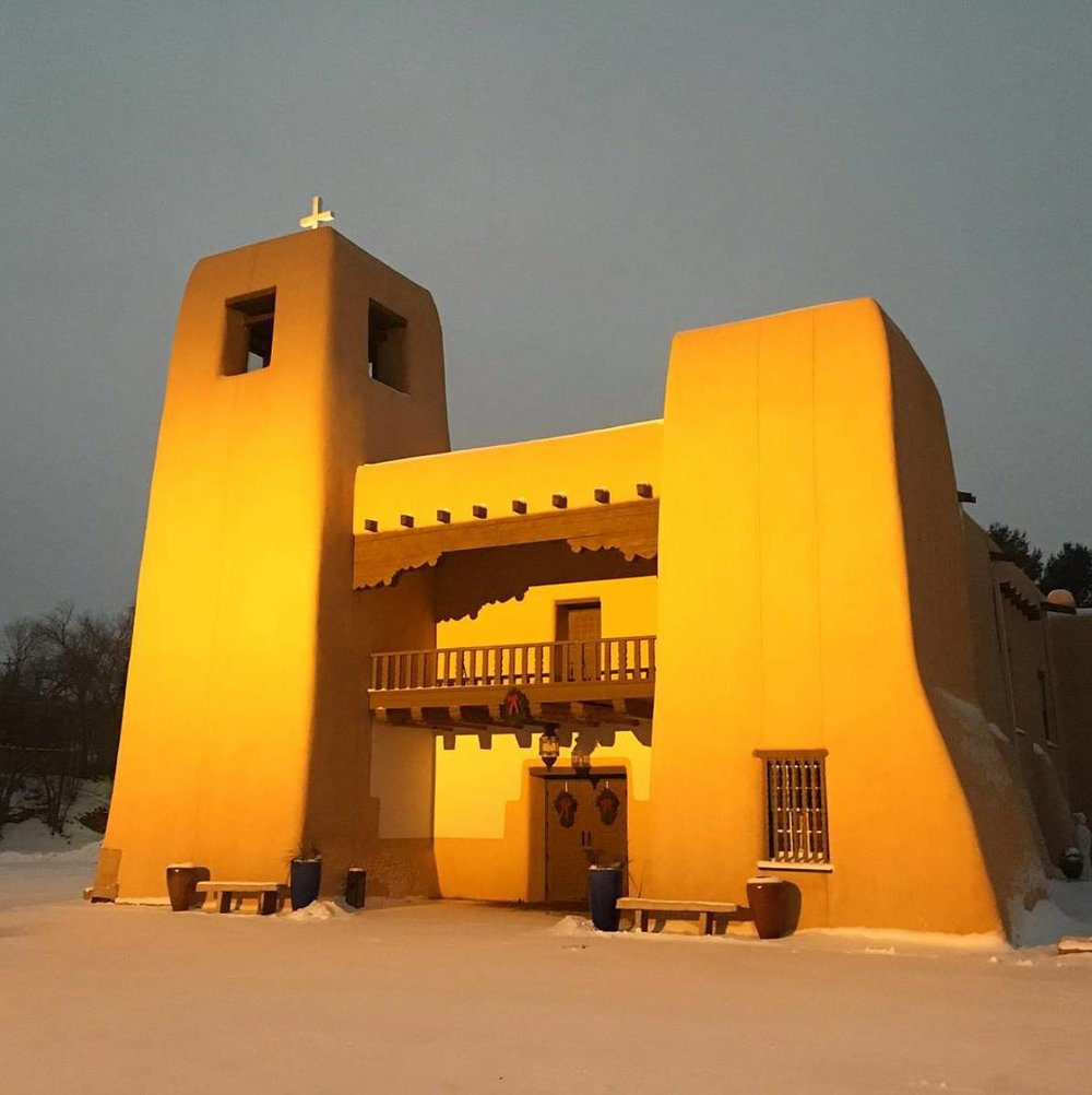 Cristo Rey church in Santa Fe, NM Photo by Erik Sverdlov   https://www.instagram.com/eriksverdlov/