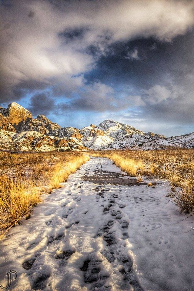 Up towards Dripping Springs near Las Cruces, NM. Photo by Jeremy Ninjew Perlman