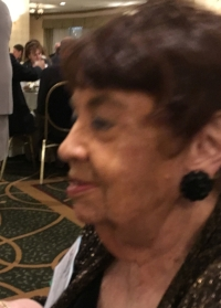 Mary Frisque, Executive Director  ICAW, at award dinner