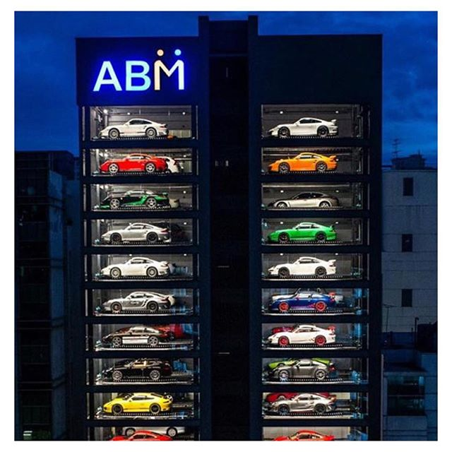 This is a Vending Machine! Six Levels are edited out so you can view the photo. This is Autobahn Motor's new ABM building at No.20 Jalan Kilang & is an eye-catching spectacle to behold  #youtube #youtuber #youtubers #luxury #carporn #cars #singapore #geek #anime #cosplay #travel #wanderlust #travelgram #bestoftheday #photography #photographer #photooftheday