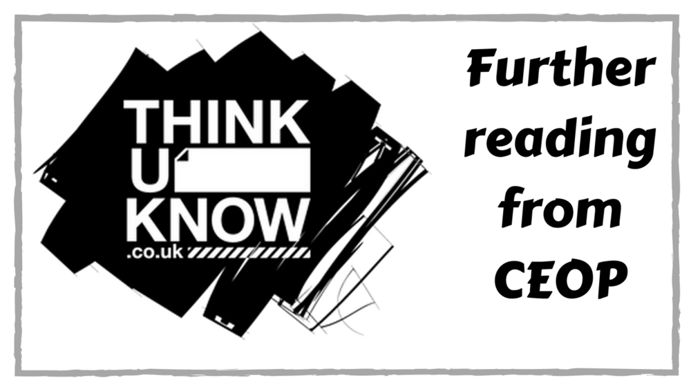 Thinkuknow is an educational programme from the National Crime Agency's CEOP Command. Information for children, young people, their parents and carers and the professionals who work with them.