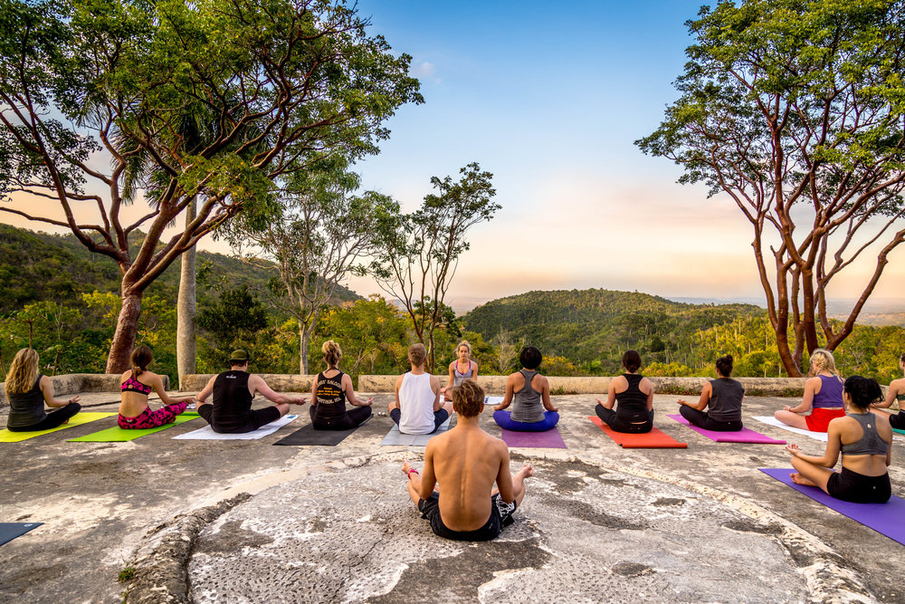 Mountaintop meditation in Havana, Cuba