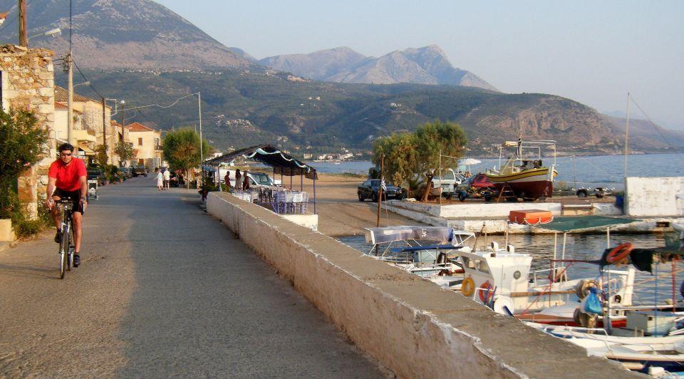 Riding Along the Coast of Lesvos