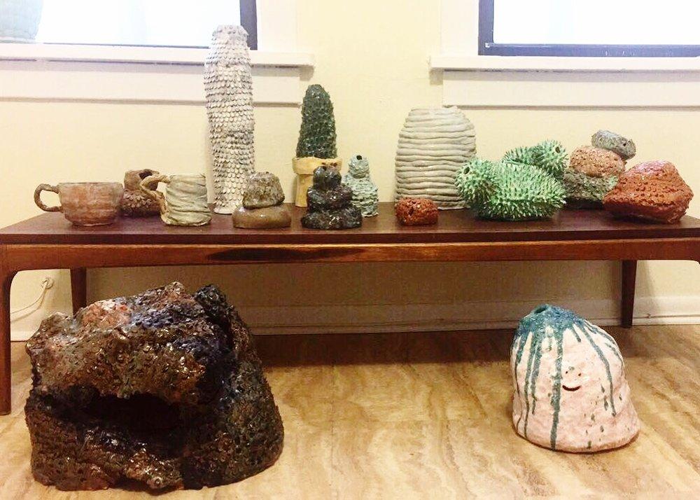 A Semester's work in ceramics