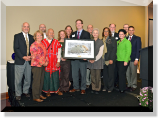 Coalition members receiving 2013 Summit of Sustainability Founders Award