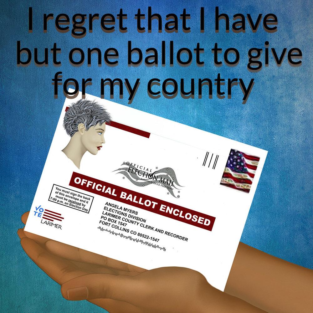 one ballot