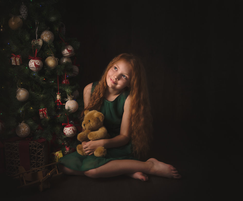 Special Christmas. Magical portrait of Lara x