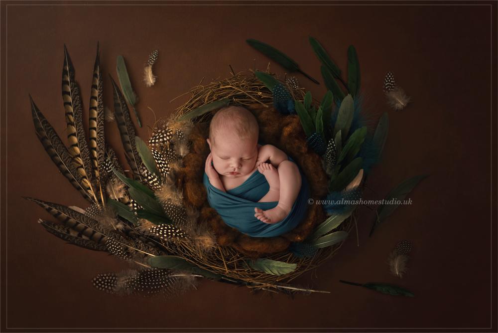 Alma's Home Studio Newborn photographer based in Blandford Forum, Dorset