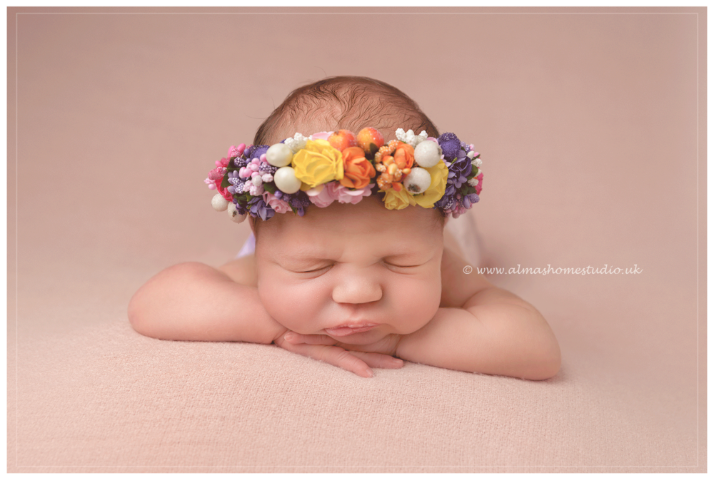 Almas home studio newborn photographer based in blandford forum dorset