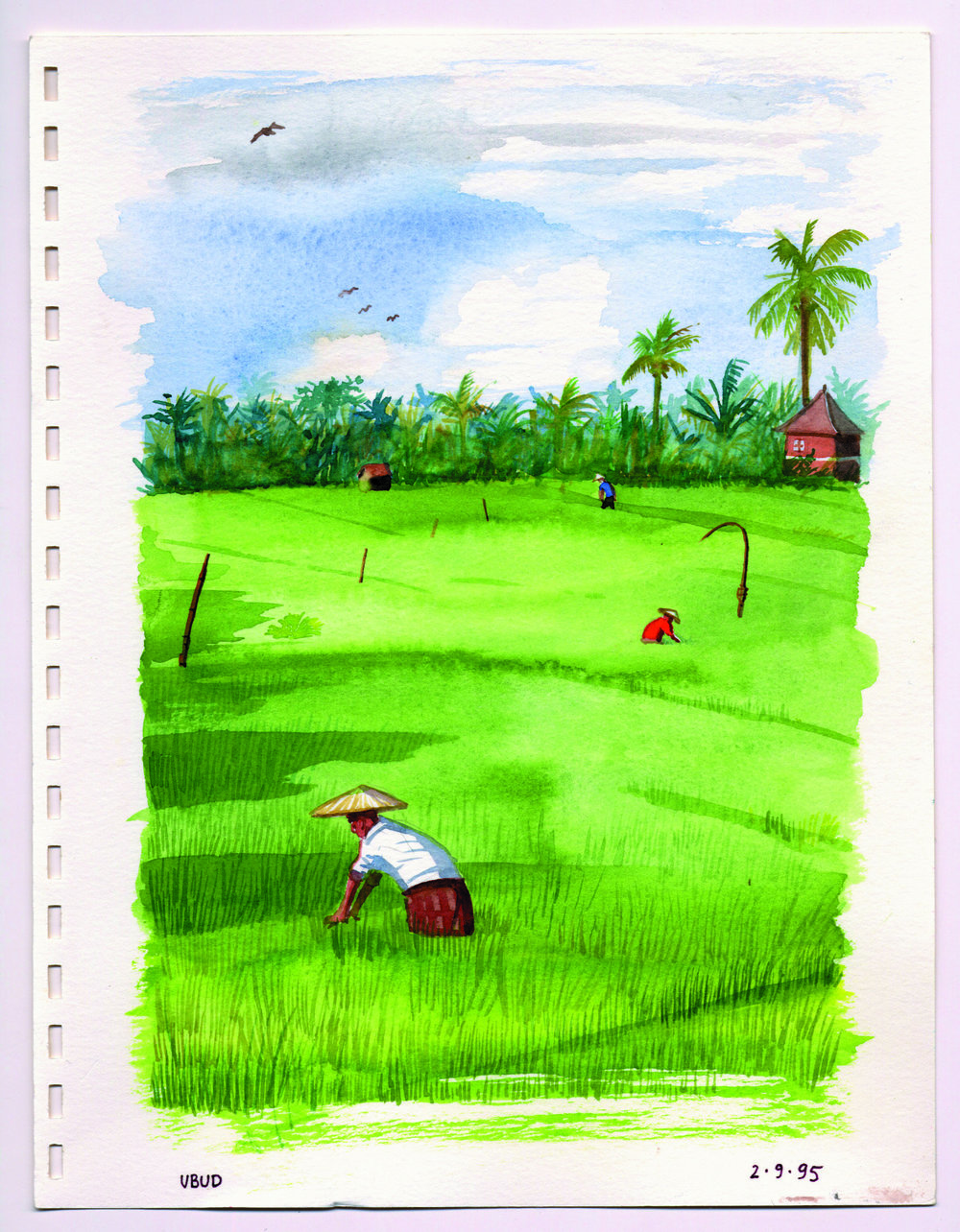 Bali2)1995