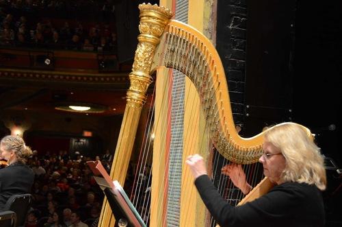 Meet Harpist Holly Avesian